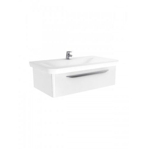 New Trendy Sfero szafka wisząca + umywalka biały połysk 95 cm ML-MO095, ML-MO095