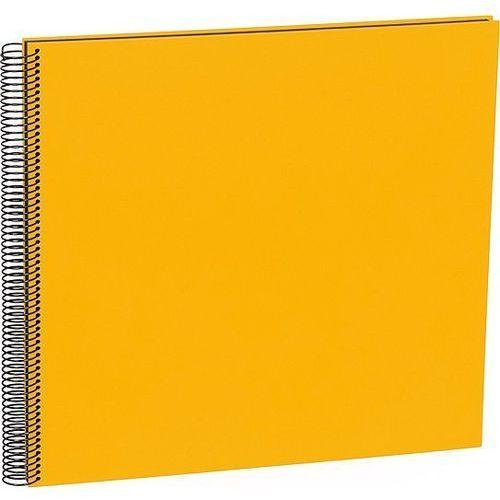 Album na zdjęcia Uni Economy czarne karty duży żółty