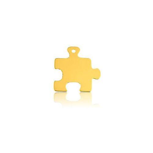 925.pl Blaszka puzzle, złoto próba 585
