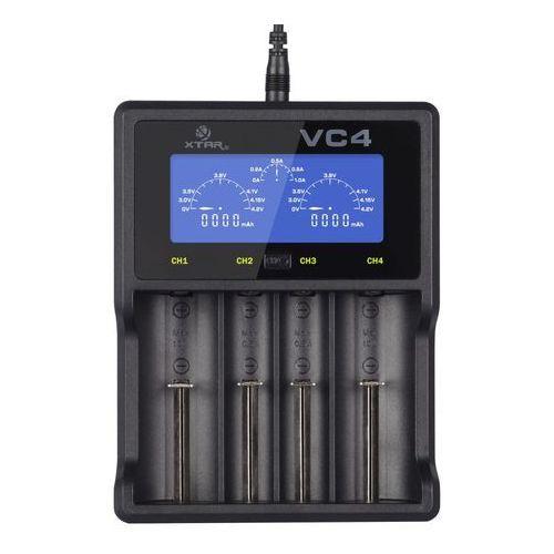 ładowarka do akumulatorów cylindrycznych Li-ion i NiMH Xtar VC4