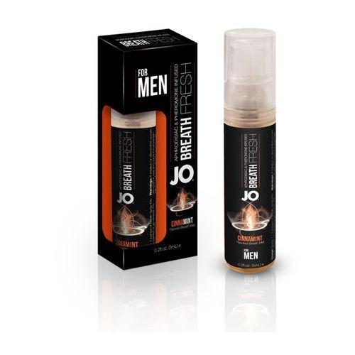 Odświeżacz feromonowy do ust - System JO PHR Breath Fresh Dla Mężczyzn - Cynamiętowy z kategorii feromony