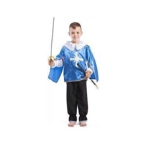 Muszkieter niebieski - przebranie dla dzieci - 140 cm, kolor niebieski