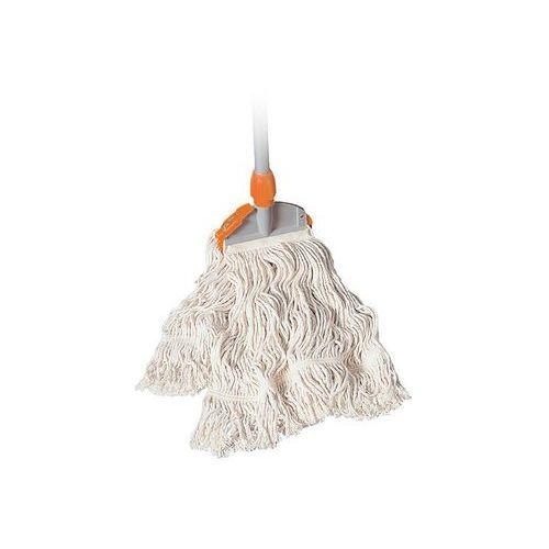 Zestaw sprzątający: mop sznurkowy 350 g, spinka do mopa i kij Splast