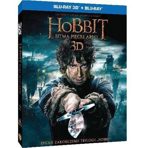 Peter jackson Hobbit: bitwa pięciu armii (3-d 4bd) trójwymiarowa okładka (7321998336173)