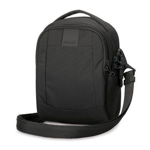 Torba męska na ramię antykradzieżowa Pacsafe MetroSafe LS100 - Czarny