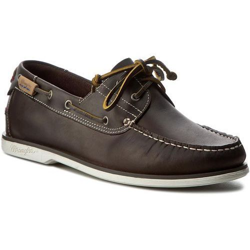 Mokasyny WRANGLER - Ocean Leather WF0910182 Dk. Brown 30, w 7 rozmiarach