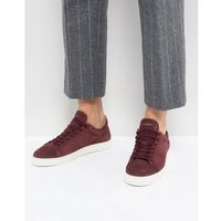 premium suede trainers - red, Selected homme