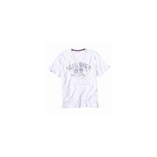 Mustang Koszulka krótki rękaw 5534 2100 biała