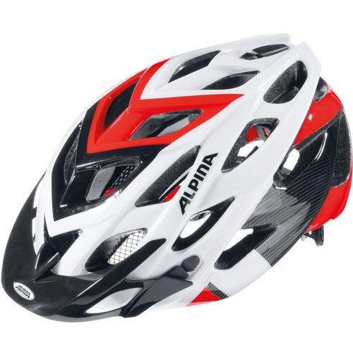 d-alto kask rowerowy biały/czarny 57-61cm 2018 kaski rowerowe marki Alpina