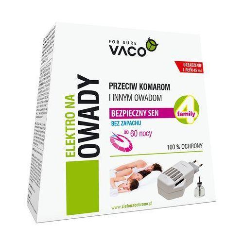 Vaco Elektrofumigator owadobójczy z płynem 1szt. 45 ml (5901821950114)