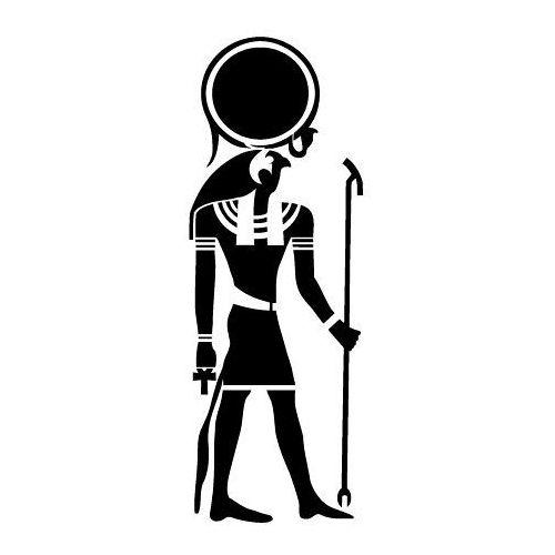 Szabloneria Szablon malarski z tworzywa, wielorazowy, wzór etniczny 29 - ra bóg słońca