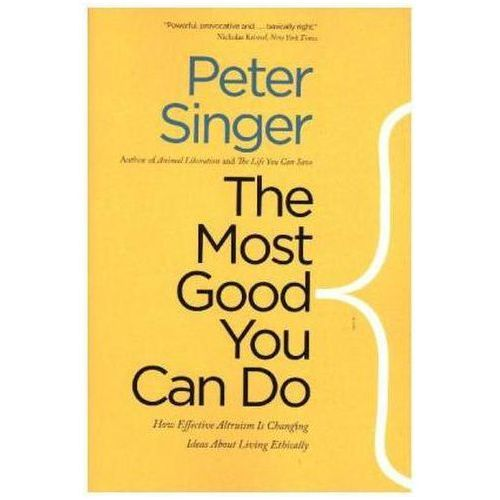 Most Good You Can Do (9780300219869)