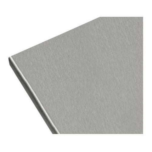 Blat laminowany Biuro Styl 60 x 2,8 x 305 cm aluminium (5906881502211)