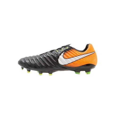 Nike Performance TIEMPO LEGACY III FG Korki Lanki black/white/laser orange/volt