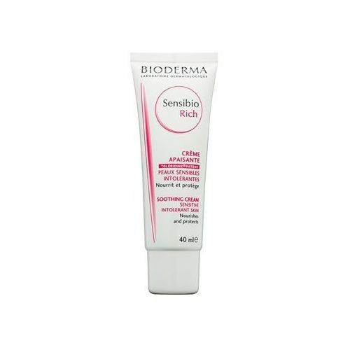 Bioderma Sensibio Rich kojący krem nawilżający do skóry suchej i bardzo suchej (Rich Soothing Cream for Sensitive Intolerant Skin) 40 ml, 15726