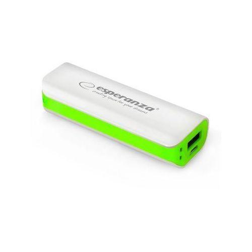 Ładowarka akumulator ESPERANZA POWER BANK JOULE 2200mAh - zielony