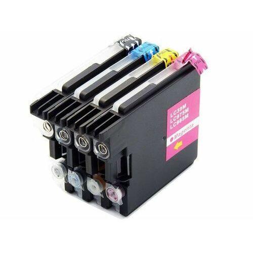 Zestaw tuszy LC985 / LC-985 do BROTHER DCP-J125 DCP-J315W LC985 (4 kolory) CMYK