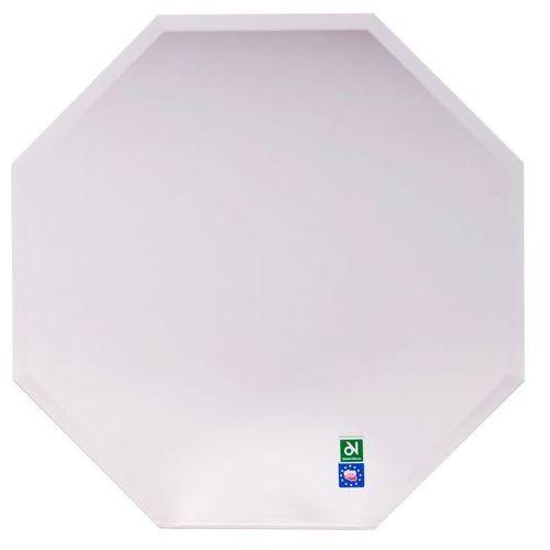Dubiel vitrum Lustro łazienkowe bez oświetlenia ośmiokątne 50 x 50 cm (5905241033402)