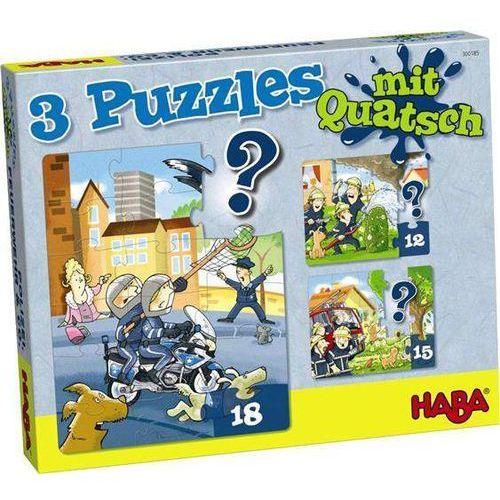 Puzzle - Policjant, Strażak...(3 motywy) (4010168202259)