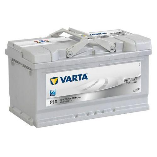 Akumulator VARTA F18 Silver Dynamic 85Ah 800A L-