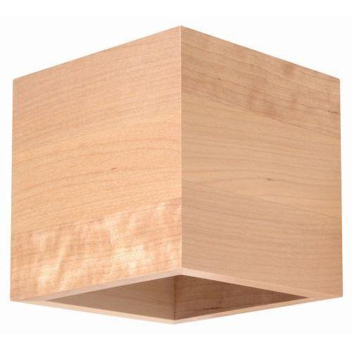 Kinkiet QUAD 1xG9/40W/230V drewno, KINKIETSL0491