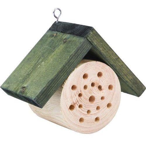Domek dla pszczół - okrągły 17,2x9,3x14cm 71004 (5908277702588)