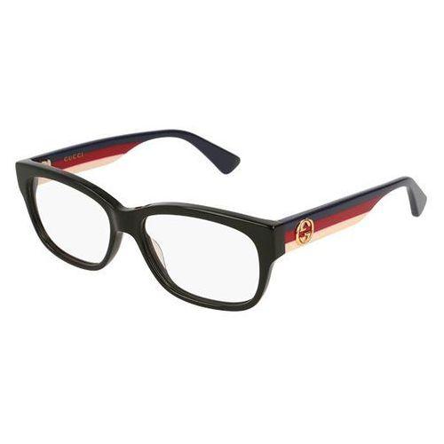 Okulary korekcyjne gg 0278o 001 marki Gucci