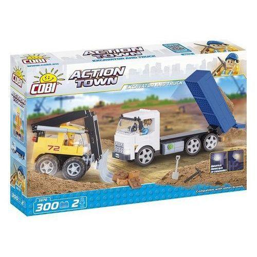 Cobi klocki Action town buldożer i wywrotka (5902251016760)