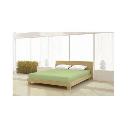 Prześcieradło Jersey Classic 140/160x200 cm kolor zielony