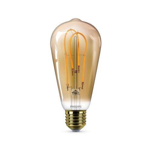 Lampa edisona led e27 5 w 250 lm marki Philips