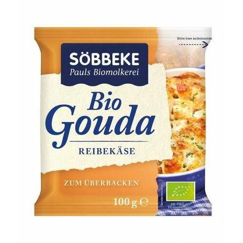 Ser żółty gouda tarty bio 100 g - sobbeke marki Sobbeke dystrybutor: bio planet s.a., wilkowa wieś 7, 05-084 leszno k.