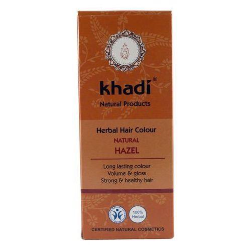 Henna Khadi Orzechowy Brąz - ziołowa farba do włosów, kolor brąz