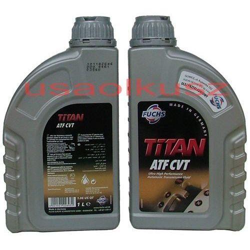 Olej do skrzyń bezstopniowych titan atf cvt marki Fuchs