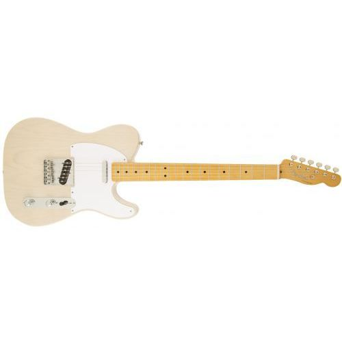 Fender classic series ′50s white blond gitara elektryczna, podstrunnica klonowa
