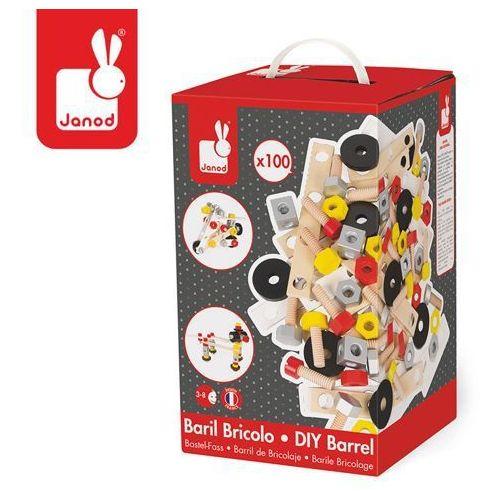 Zestaw konstruktora 100 elementów - zabawki dla dzieci
