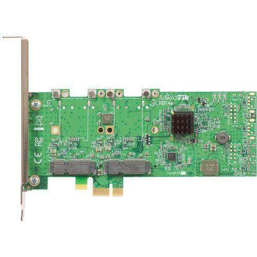routerboard 14e four slot minipci-e to pci-e adapter marki Mikrotik
