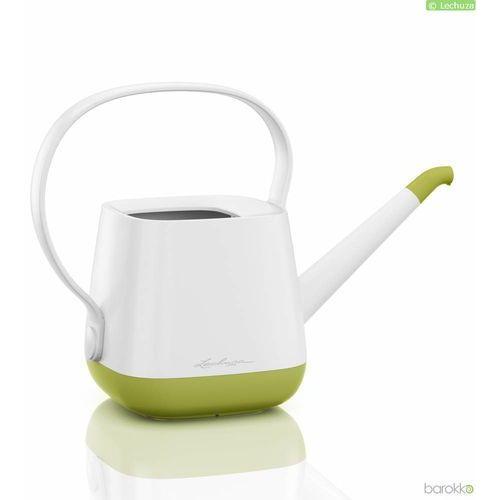 Konewka Lechuza Yula, biało - zielona - zielony ||biały (4008789138705)