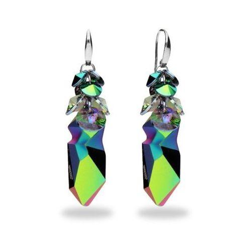 Biżuteria swarovski kolczyki - kaputt scarabaeus green i paradise shine j.p.gaultiera marki Anka biżuteria