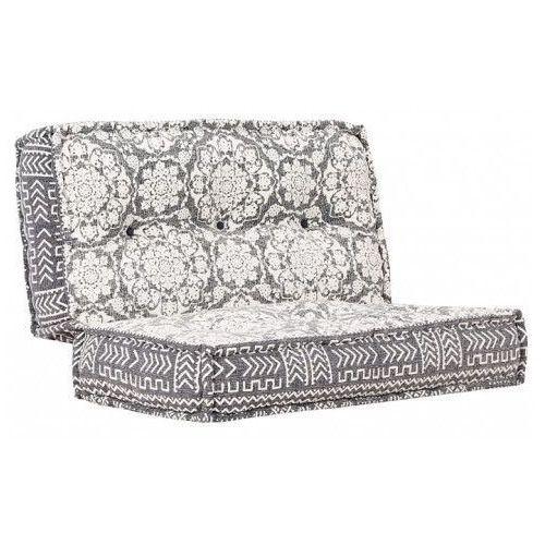 Kwadratowa piankowa sofa Gina - ażurowa, vidaxl_283795