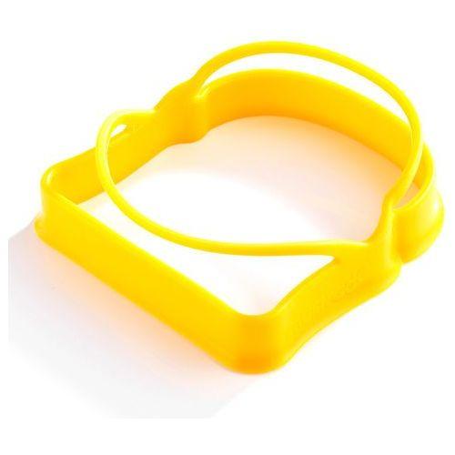 Mastrad Foremki silikonowe do jajek w kształcie tostów 2 szt. żółte