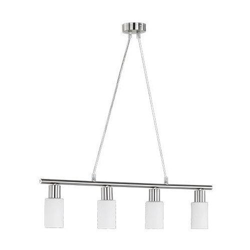 Trio rl mars r30014007 lampa wisząca zwis 4x40w e14 nikiel mat / alabaster (4017807224092)