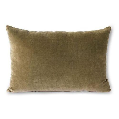 poduszka velvet wojskowa zieleń (40x60) tku2111 marki Hkliving