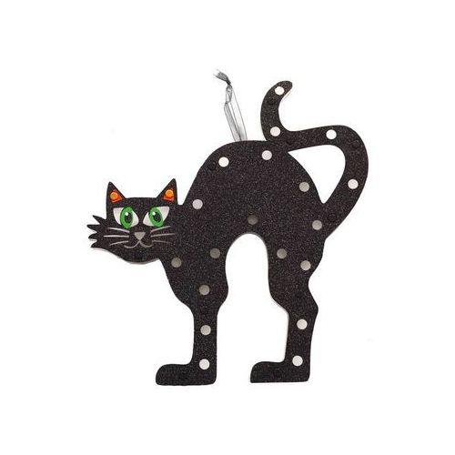Dekoracja na ścianę czarny kot - 1 szt. marki Guirca