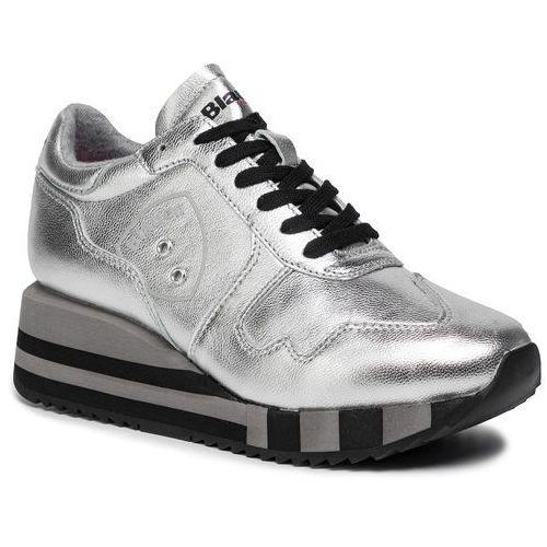 Sneakersy BLAUER - 9FCHARLOTTE01/LAM Silver, kolor szary