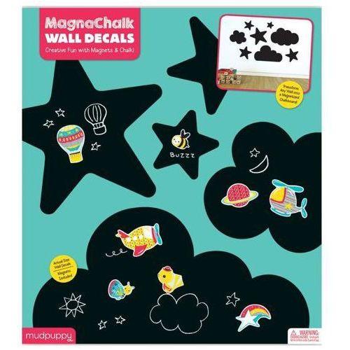 Mudpuppy  tablica kredowa z magnesami - niebo