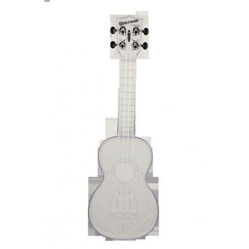ka-swt waterman, ukulele sopranowe z pokrowcem, przezroczysty marki Kala