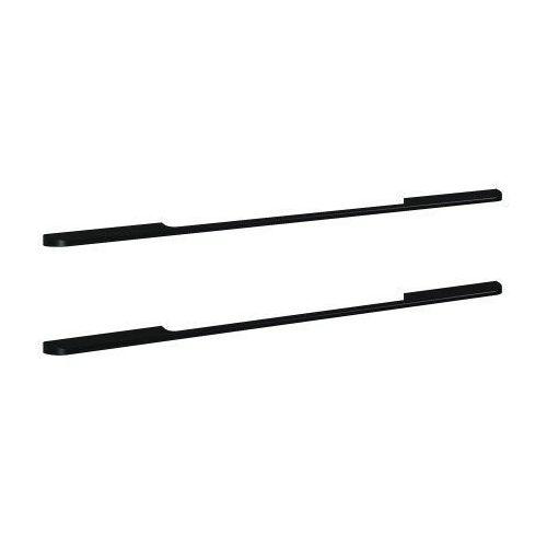 ELITA uchwyty Barcelona metalowe, black, do szafek podumywalkowych 100, 2 sztuki 167178