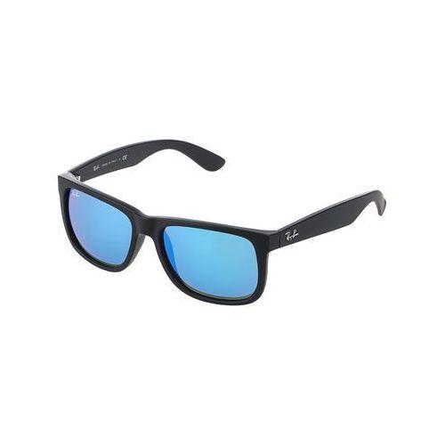 RayBan JUSTIN Okulary przeciwsłoneczne black/blue (8053672416183)