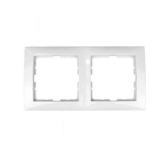 Ramka podwójna biała 5310128989 B.Kwadrat Berker