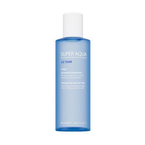 MISSHA Super Aqua Ice Tear Skin tonik na bazie wody z lodowców 180ml